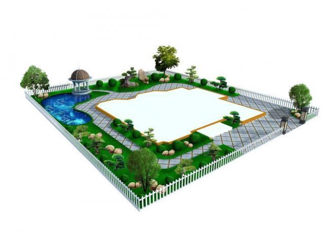 别墅景观环境