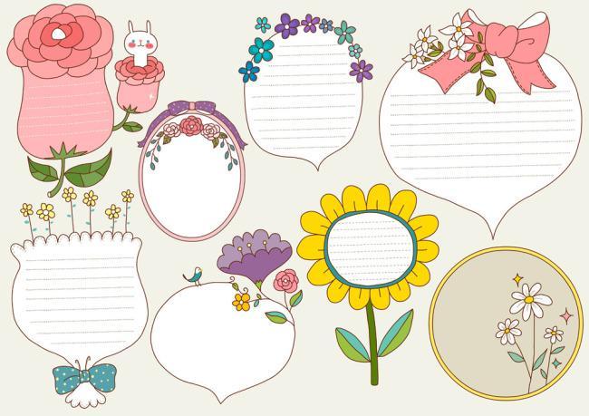 花卉对话框