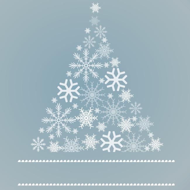 雪花三角形