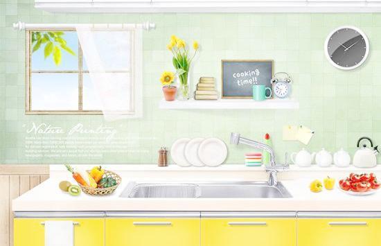厨房装饰设计效果图